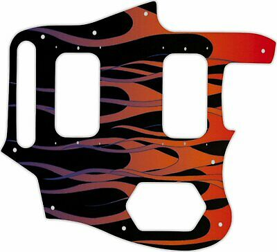 WD Custom Pickguard For Fender Kurt Cobain Signature Series Jaguar #G07 Hot R... • 41.66£