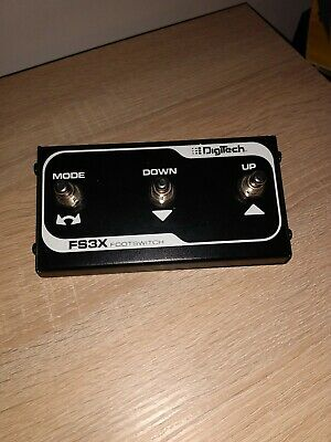 Digitech Fs3X Footswitch • 16.80£