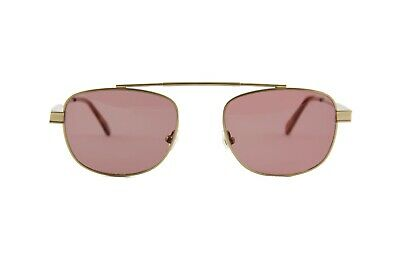 Han Kjobenhavn Clint Sunglasses Gold With Red Lenses  • 70£