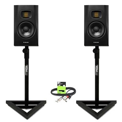 Adam Audio T5V Active 5  DJ Studio Monitor Speaker (PAIR) With Stands + Cable • 299£