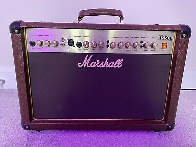 Marshall AS50D 50W Acoustic Guitar Amplifier • 120£