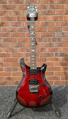 B Stock PRS SE Custom 24 Floyd Electric Guitar, Fire Red • 749£
