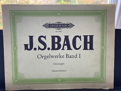 J. S. Bach, Orgelwerke Band I (Edition Peters)