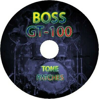 5500 Guitar Effects Pedal Boss Gt-100 Presets Tone Patches  • 3.85£