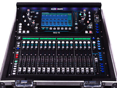 Allen & Heath Sq-5 Complete With DX168 Audiorack Flightcased With Manuals Etc • 4,995£