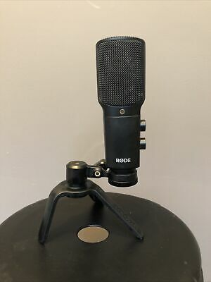Rode NT-USB Versatile USB Microphone With Mount, No Cable • 120£