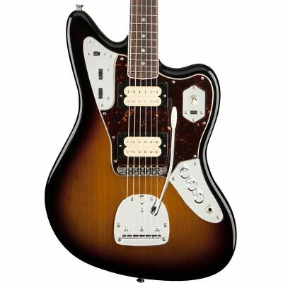 Fender Kurt Cobain Jaguar Rosewood Fingerboard 3-Color Sunburst Electric Guitar • 907.50£
