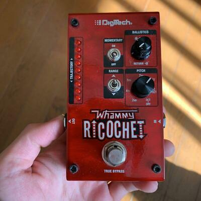 DigiTech Whammy Ricochet Guitar Effects Pedal 2 Up Or Down 7 Pitch Intervals • 161.84£