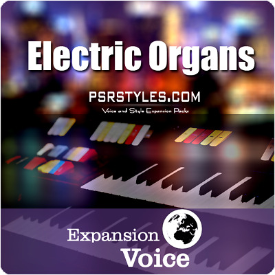 ELECTRIC ORGANS Expansion Pack For YAMAHA Genos Tyros 5 PSR SX-900 S-975 S-970 • 27.20£