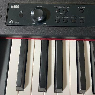 KORG D1 Digital Piano - Black Free Shipping Arrive Quickly • 684.40£