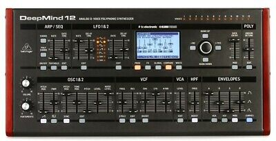 Behringer DeepMind 12D Synthesizer In Stock Brand New US Seller Ships In 24 Hour • 694.17£