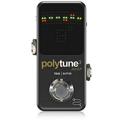 Tc Electronic Polyphonic Mini Tuner POLYTUNE 3 NOIR [Domestic Genuine] • 132.74£