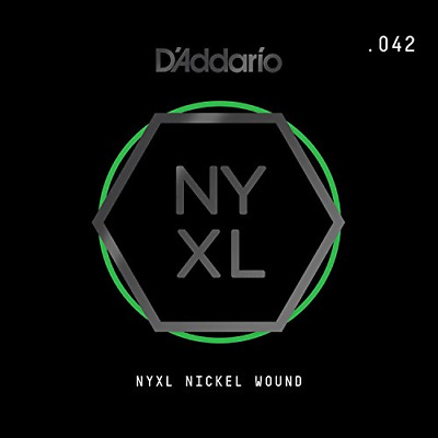 D'Addario NYNW042 Nyxl Single Nickel Wound 042 • 5.06£