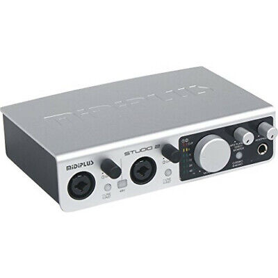 MiDiPLUS Studio 2 USB Audio Interface • 175.83£