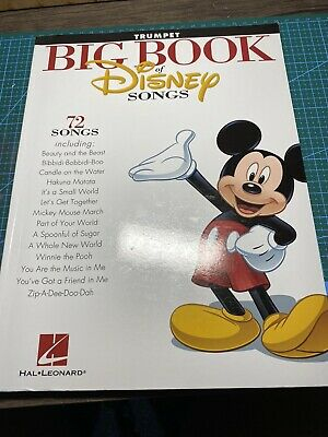 The Big Book Of Disney Songs - Trumpet By Hal Leonard Corporation (Paperback,... • 0.99£