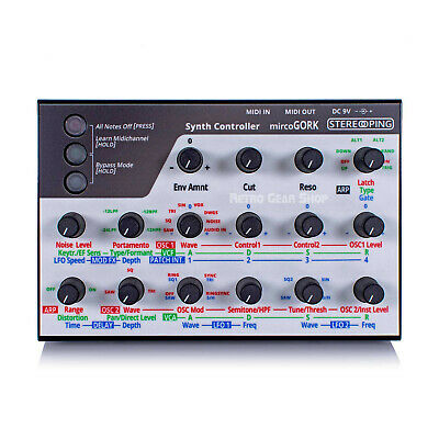 Stereoping CE-1 Midi Controller For Korg MicroKorg Rare Vintage Synth • 393.45£