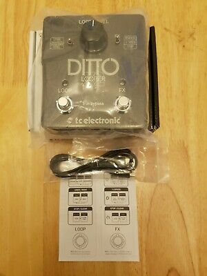 Ditto X2 Looper Top Condition In Box • 99£