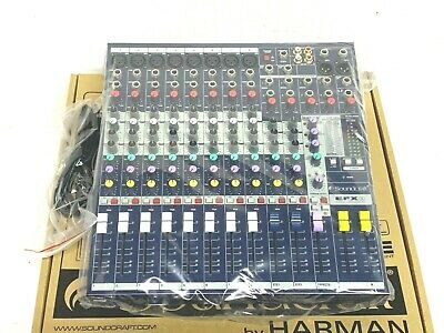 Sound Craft EFX8 8 Channel Mixer With Effects #7525 (One) • 315.60£