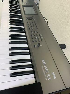 KORG KROME EX 73 Keys Keyboard Synthesizer Free Shipping Arrive Quickly • 804.63£