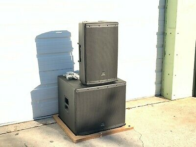 Jbl Eon 618s/eon615 Powered Speaker System (package) #7595 • 932.55£