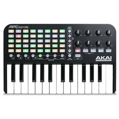 Akai APC Key 25 Ableton Live USB/MIDI Controller Mini Keyboard Brand New  • 70£