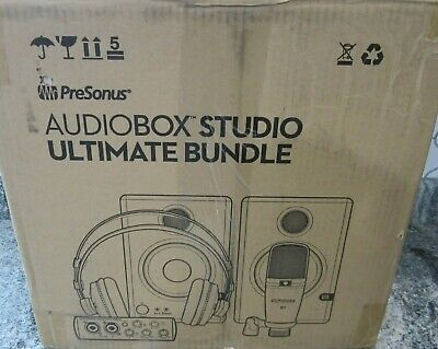 PreSonus AudioBox Studio Ultimate Bundle Deluxe Recording Collection, Blue • 175.82£