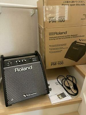 Roland PM100 80W 1x10 Inch Personal Drum Monitor  Free Shipping Arrive Quickly • 462.49£