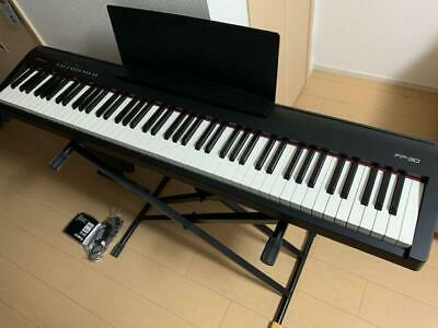 Roland FP-30-BK 88 Keys Digital Portable Piano Free Shipping Arrive Quickly • 940.56£