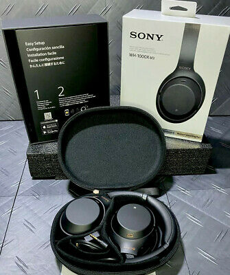 Sony WH-1000XM3 Wireless Bluetooth Noise Canceling Over Ear Headphones Black • 130.12£