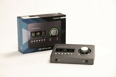 Universal Audio Arrow 2x4 Thunderbolt 3 Audio Interface With Realtime UAD-2 SOLO • 332.74£