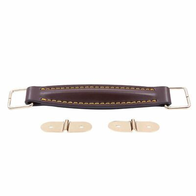 Amplifier Leather Handle Strap For Marshall AS50D AS100D Guitar AMP Speaker K6T8 • 9.92£