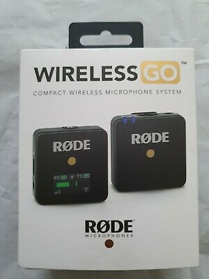 RODE Wireless GO - Compact Wireless Microphone System • 134.99£
