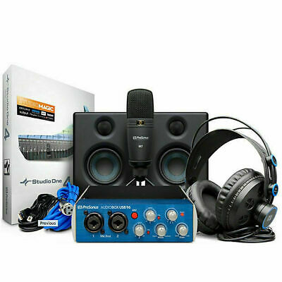 PreSonus AudioBox Studio Ultimate Deluxe Hardware/Software Recording Collection  • 224.28£