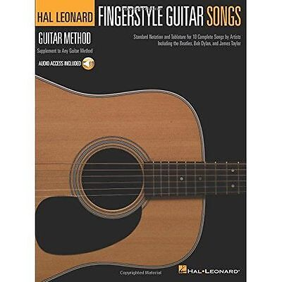 Hal Leonard Guitar Method: Fingerstyle Guitar Songs (Book/Online Audio) By... • 10.63£