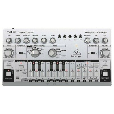 Behringer TD-3-SR Analog Bass Line Synthesizer Synth Acid 303 • 259£