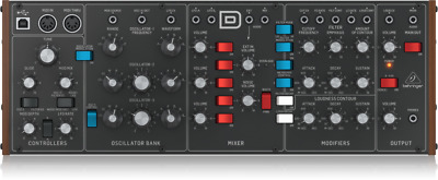 Behringer Model D - Analogue Synthesizer Sound Module Hardware Polyphonic • 239£