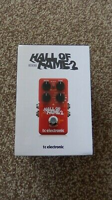 TC Electronic Hall Of Fame 2 Reverb Guitar Effects Pedal NEW, BOXED & UNOPENED • 58£
