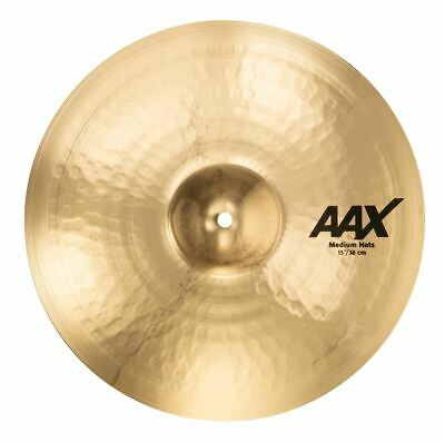 Sabian 15  AAX Medium Hi-Hats Brilliant Cymbal 21502XCB • 301.07£