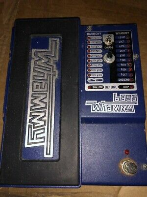 DigiTech Bass Whammy Compact Effector  Tested  From Japan Yo555 • 187.23£