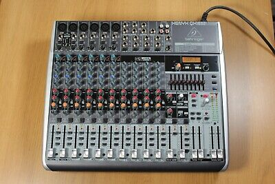 Behringer XENYX QX1832USB 10 Channel Mixer With Effects • 150£