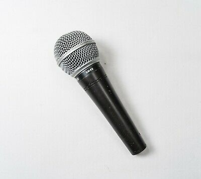 Shure SM48 Vocal Microphone Dynamic Cardioid Singing Voice Wired Mic • 25.16£