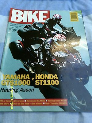 BIKE (sept 1993) KLX650/TZR125/GTS1000vST1000/XT225/Boss Hoss V8/kent 93 • 3.50£