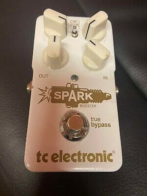TC Electronic Spark Booster Effects Pedal • 20£