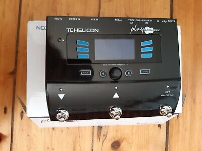 TC Helicon Play Acoustic VOICELIVE Pedal Inc. Looper • 215£