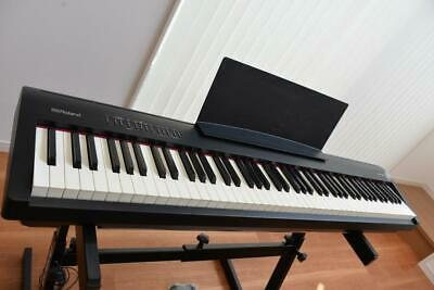 Roland FP-30-BK 88 Keys Digital Portable Piano Free Shipping Arrive Quickly • 734.45£