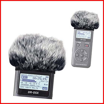 DR05X Windscreen Muff For Tascam DR-05X DR-05 Portable Recorders, DR05X Mic Fur • 12.06£