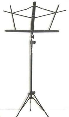 2006 TMP On Stage Compact Sheet Music Stand Sm7122 Black Metal Adjustable • 16.69£
