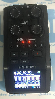 Zoom H6 Handheld Portable Recorder And Interface, Black Edition Unit Only