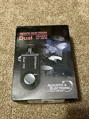 Roland RT-30HR Acoustic Drum Trigger (Dual) Open Box! New Inside! • 56.19£