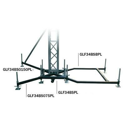 Global Truss Ground Support F34 PL BS0-75 Steel Outrigger 0.75m